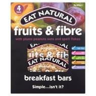 Eat Natural Fruits & Fibre Plum Breakfast Bars4x40g