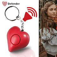 Defender Heart Shaped Stylish Personal Attack Alarm - 130dBs Siren!