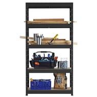 Freestanding Shelf Unit 90 X 40 X 177 Cm