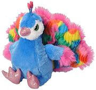 Wild Republic 18075 Sweet and Sassy Peacock Plush Toy, 30 Cm