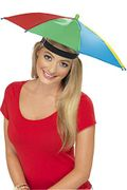 Smiffys Umbrella Hat - Multi-Colour