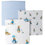 Cheap 3-Pack Peter Rabbit Muslin Squares Only £19.95