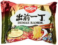 Nissin Demae Ramen Spicy Instant Noodles, 100 G, Pack of 30