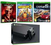 Xbox One X, Borderlands 3, Tekken 7 & Project Cars 2 Bundle