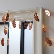Lisa Angel Copper Feather LED String Light