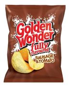 CASE PRICE 48 X Golden Wonder Sausage & Tomato Crisps Only £5 at ClearanceXL