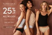 FLASH SALE - 25% off All Boody!