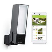 Smart Outdoor Security Camera, WIFI, Integrated Floodlight, Movement Detection