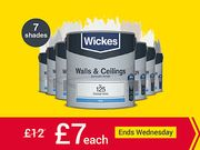 Selected 2.5lt Wickes Emulsion