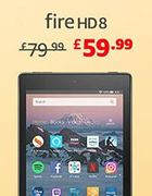 Fire HD 8 Tablet, 16 GB (PRIME ONLY DEAL - save £20)