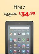 "SAVE £15 - All-New Fire 7 Tablet | 7"" Display, 16 GB (PRIME ONLY DEAL)"