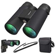 Kylietech 12x42 Binocular for Adults with BAK4 Prism, FMC Lens