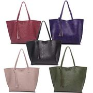 Minlop Women Synthetic Leather Handbags Large Capacity Retro VintageTop Handle