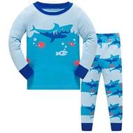 Half Price!!! Boys Pyjamas Nightwear Cotton Toddler Clothes
