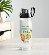 Multicoloured Avo Slogan 750ml Water Bottle