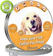 Vienapoli Adjustable Flea and Tick Collar for Small