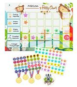 Potty Training Chart Kit with Stickers and Rewards