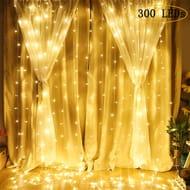 LED Curtain Lights at Amazon