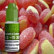 Rejuiced 10ml Rhubarb & Custard Eliquid
