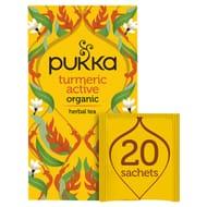 Pukka Organic Turmeric Active 20 Tea Bags 36G
