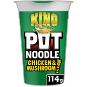 Tesco King Size Chicken and Mushroom Pot Noodle
