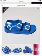 Birkenstock Blue Milano Eva Sandals Toddler