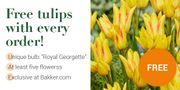 Bakker.com - Exclusive Flower Bulb Free with Every Order