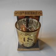 Cheap 18th Birthday Metallic Candle Holder, reduced by £1.5!