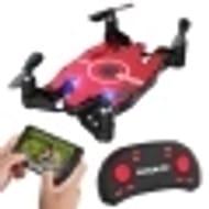 6-Axis Gyro WIFI FPV 720P HD Camera Quadcopter Foldable RC Selfie Pocket Drone