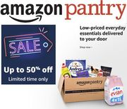 Amazon Pantry SALE >>> up to 50% off Hundreds of Products!