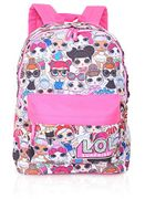 L.O.L. Surprise ! Backpack for Girls and Teens Featuring All-over Dolls