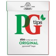 PG Tips 160 Pyramid Tbags