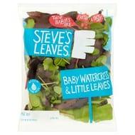 Steve's Leaves Baby Watercress & Little Leaves60g
