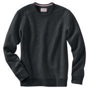 Lands' End - Grey Serious Sweatscrew Neck Sweatsirt