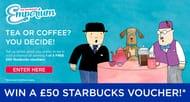 Win £50 Starbucks Voucher