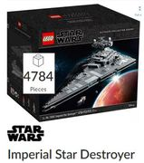 Cheap Imperial Star Destroyer at LEGO Only £649.99