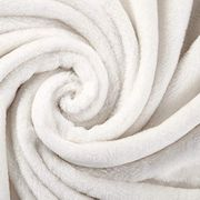 Cheap Fleece Throw Blanket Ivory Flannel Blankets Only £5.99
