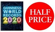 1/2 PRICE & FREE DELIVERY - Guinness World Records 2020 (NEW!)