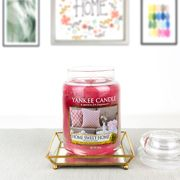 Cheap Large Yankee Candle and Glass Tray, Only £15