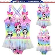 Lol Surprise Dolls Kids Girls Swimwear