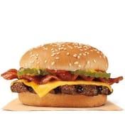 2 Small Bacon Cheeseburger Meals 58% Discount via Burger King App