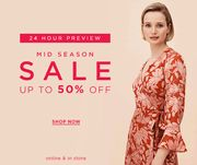 Hobbs - 24 Hour VIP Sale Preview! up to 50% Off