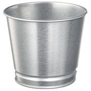 Galvanised 9cm Planters at Ikea Only £0.5