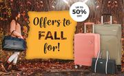 American Tourister - Fall for Our Offers up to 50% OFF