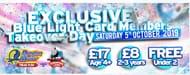 Blue Light Card Holders ONLY- Drayton Manor Deal