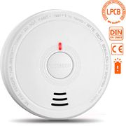 Smoke Alarm, Safenest Smoke Detector Battery Operated with 10 Years Life