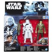Star Wars the Force Awakens Poe Dameron and First Order Snowtrooper Deluxe Pack
