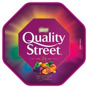 2 for £7 Chocolate & Sweet Tubs Inc Roses, Quality Street, Heroes & Celebrations