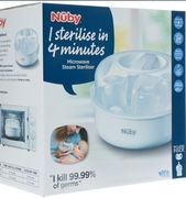 NUBY White Microwave Steam Steriliser