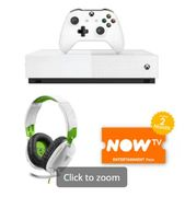 XBOX ONE S ALL DIGITAL EDITION with TURTLE BEACH RECON 70X HEADSET Only £229.98